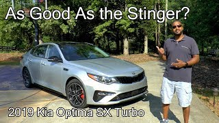 2019 Kia Optima SX Turbo Review - As Good As The Stinger?