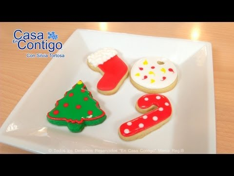 Decorar Galletas con Royal Icing o Glasa Real