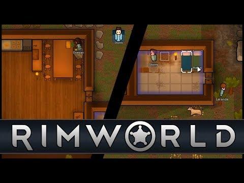 СТРОИМ ПОСЕЛЕНИЕ - RIMWORLD #1-1