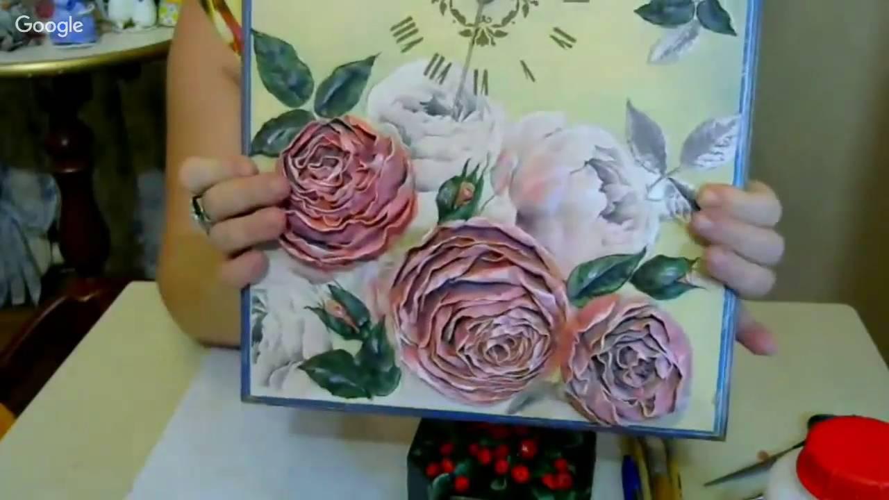 Цветы из ваты своими руками мастер класс елены васько 76