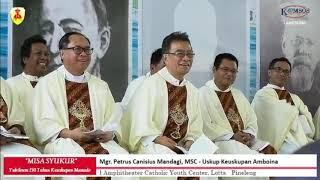 Mgr. Mandagi Mengkritik para Imam dan Suster
