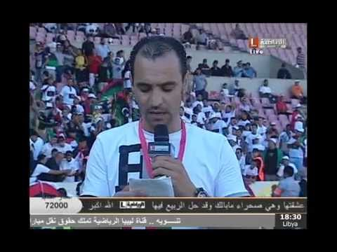 image vidéo التشكيلة الجزائرية حسب معلق الليبية الرياضية اشبع ضحك