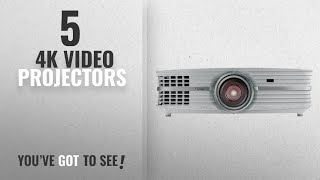 Top 10 4K Video Projectors [2018]: Optoma UHD60 4K Ultra High Definition Home Theater Projector