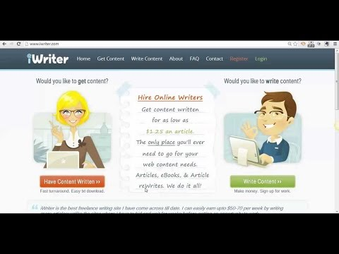 Iwriter Review Video and Iwriter tutorial