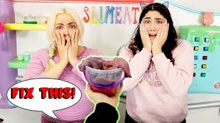 FIX THIS SLIME SMOOTHIE CHALLENGE! Slimeatory #593