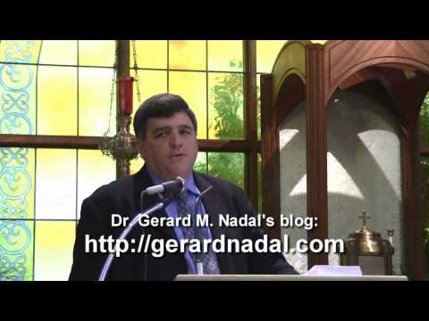 Breast Cancer and Contraception - Dr. Gerard Nadal - May 19, 2013 - Holy Apostles Seminary