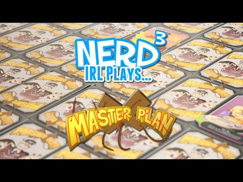 Nerd³ IRL Plays... Master Plan
