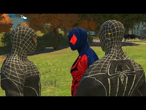 Flipside Earth 928 VS Black Spiderman - GTA 4 (MOD) HD