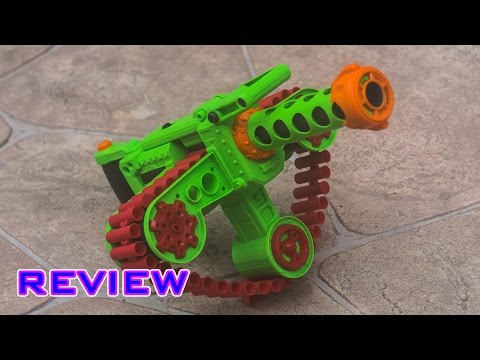 [REVIEW] Dart Zone Adventure Force Enforcer Unboxing. Review. & Firing Test