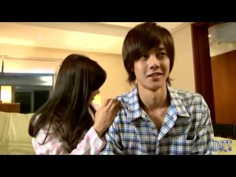 Behind The Scene Playful Kiss[hyun Joong & So Min] Ha Ni Massaging Seung Jo .webm video
