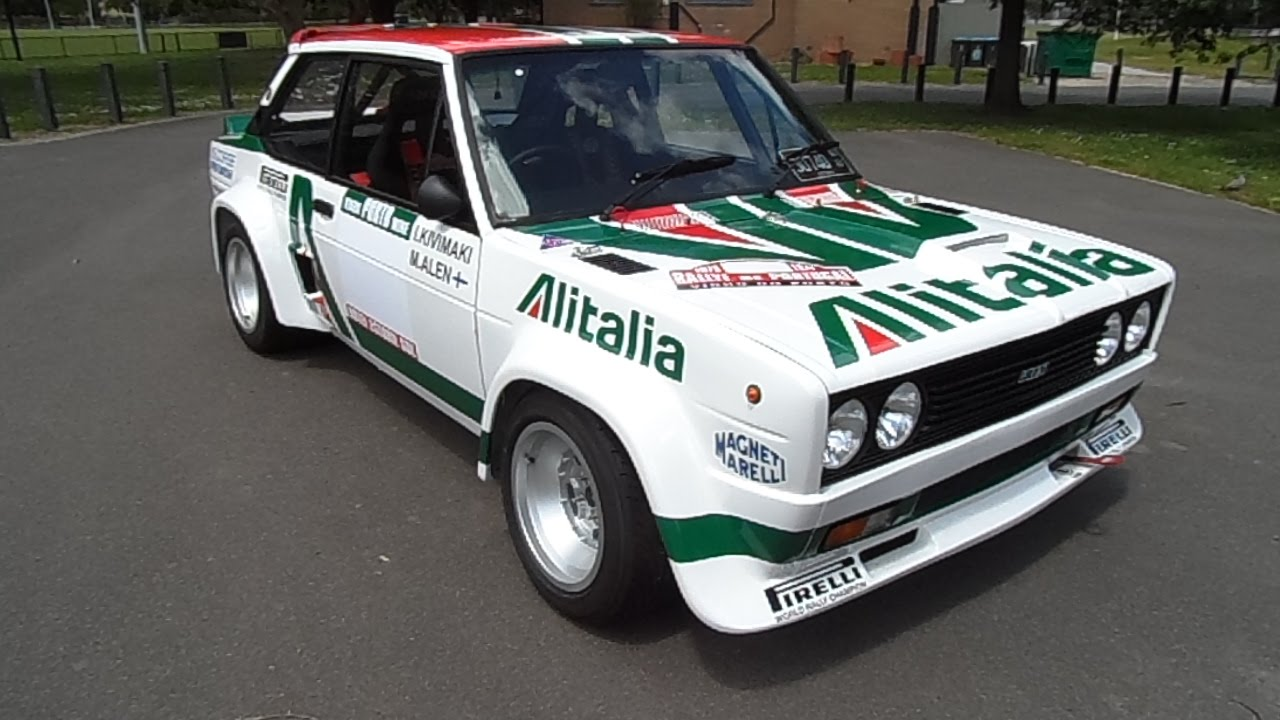 Fiat 131 Abarth Group 4 Rally Youtube