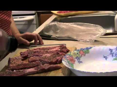 Как приготовить отбивное мясо - видео