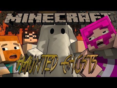 Minecraft HAUNTED GHOSTS! Custom Minigame w/ MunchingBrotato, Dartron and Shelby!