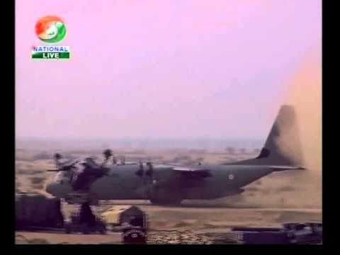 Iron Fist 2013: Indian Air Force  C-130 In Stol Assault Landing video