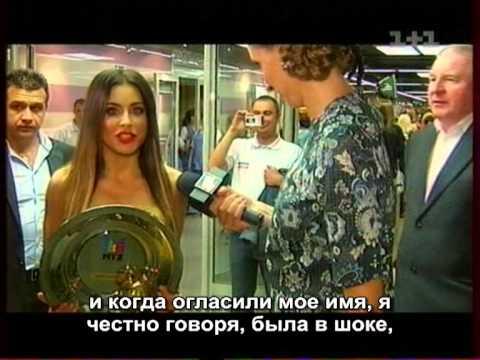 Ани Лорак о беременности, награде на Премии Муз-ТВ