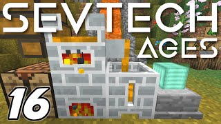 Minecraft Sevtech: Ages - SMELTING and FORGING COPPER INGOTS (Modded Survival) - Ep. 16