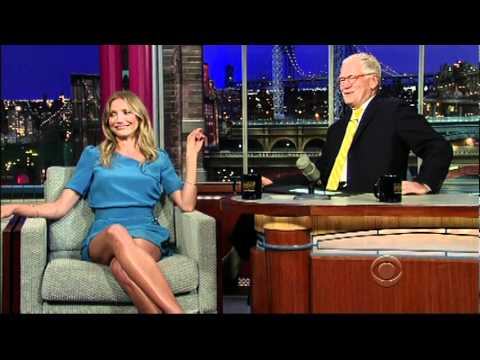 Cameron Diaz Says FUCK YEAH on Letterman