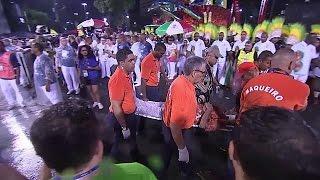 Accident de char au carnaval de Rio