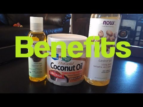 Hair Talk: Coconut Oil, Jojoba Oil, Castor Oil| RahKneeShuh