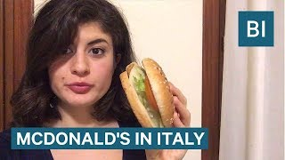All The Food You Can Only Find At A McDonald
