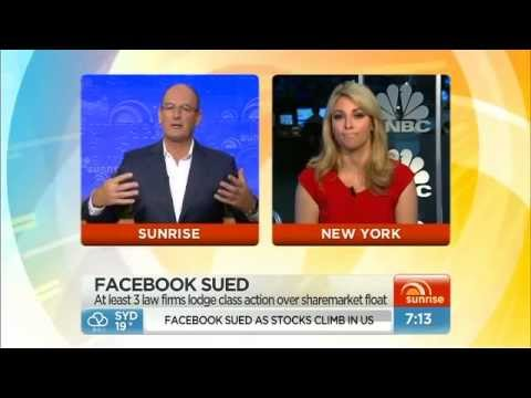 Facebook being sued by shareholders