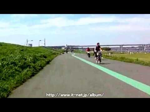 荒川のサイクリングコース CR