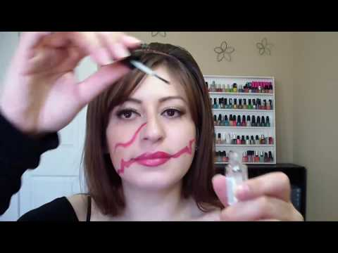 Maquillaje De Cicatriz Para Halloween