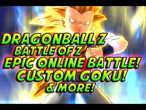 Dragonball Z: Battle Of Z - EPIC ONLINE BATTLE! Custom Goku! + Next Gen DBZ Game? Z DLC & More