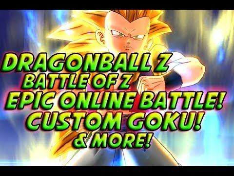 Dragonball Z: Battle Of Z - EPIC ONLINE BATTLE! Custom Goku! + Next Gen DBZ Game? Z DLC & More