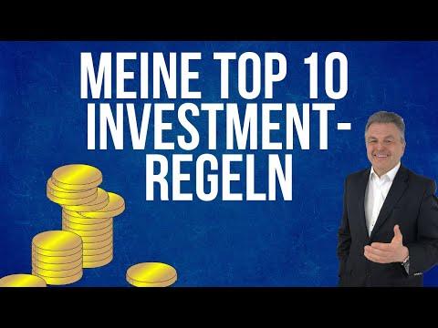 Vermögen aufbauen mit den 10 TOP-Investmentregeln | Finanzen und Erfolg