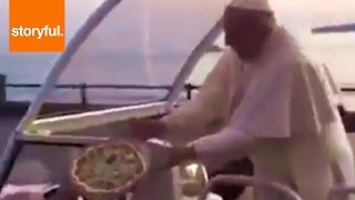 Pope Francis Gets Drive-By Pizza Delivery COMPILATION (Storyful, News)