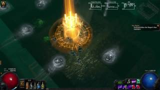 Path Of Exile - MoM Essence Drain Ascendant Hydra Kill