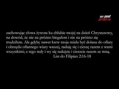Archiwum: BIBLIA NA CO DZIEŃ: List Do Filipian #2