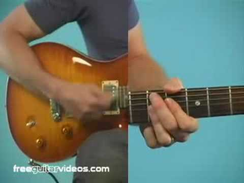 Funk Guitar Lesson: James Brown Style Strumming