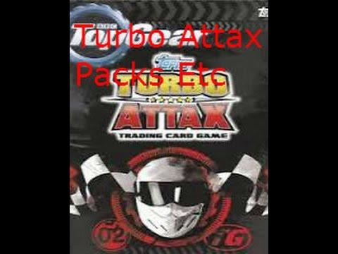 Turbo Attax Pack Opening