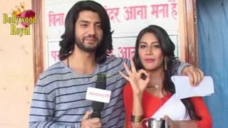 Fun Times With Om & Anika Of 'Ishqbaaz'