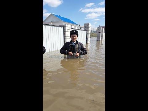 Казахстан: паводок 2017 за две минуты