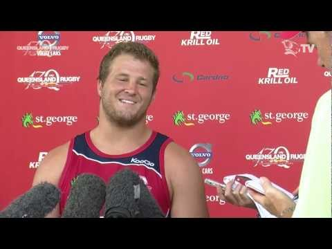 Reds James Slipper named captain for Brumbies match | Super Rugby Video