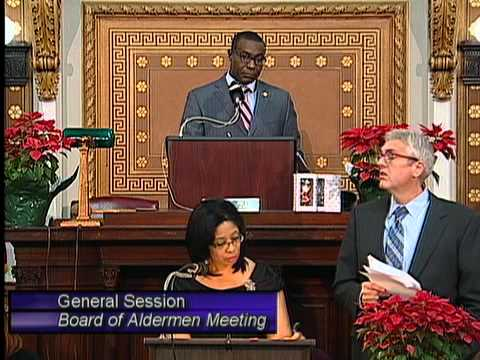 St Louis Board of Aldermen 2013-12-13 Meeting