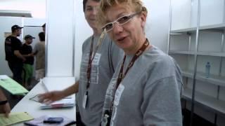 Alex Zanotti alle verifiche amministrative Dakar 2013