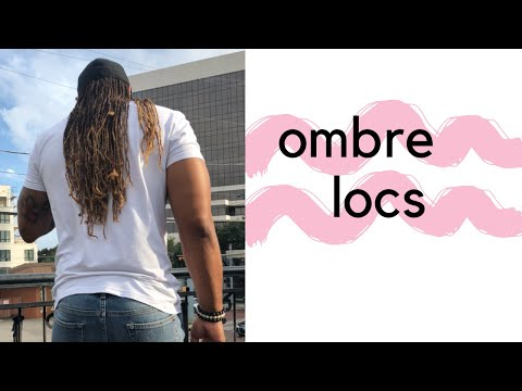 How To Do an Ombre effect on Locs!