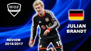 JULIAN BRANDT | Bayer Leverkusen | Goals, Skills, Assists | 2016/2017 (HD)