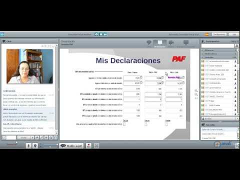 LA HORA DE LA REVISTA PAF - SIMULADOR DE PAGOS DEL RIF - 29/05/2014