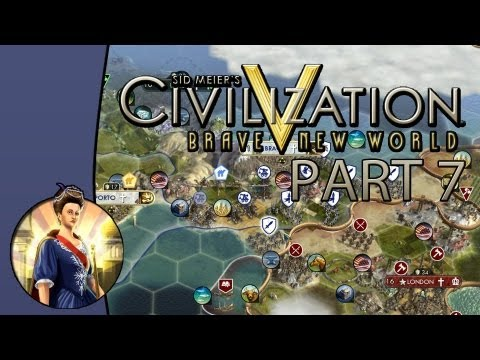 Let's Play Civilization 5: Brave New World - Game 1: Portugal - Part 7: Prepare for War!
