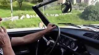 Essai Peugeot 204 cabriolet 1967