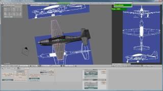 Blender 2.49b Reference Image Setup for Modeling workflow.