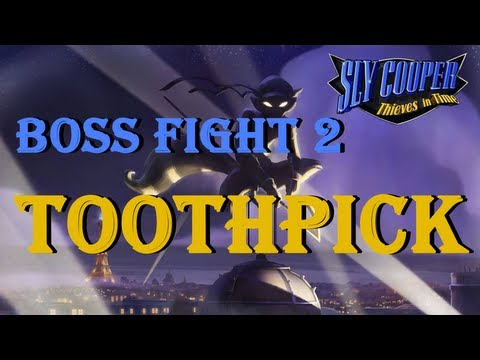 Sly Cooper 4 Thieves in Time Boss Fight 2 Toothpick