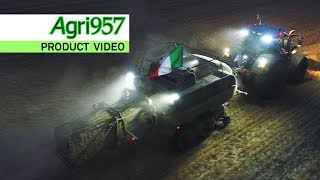 EXTREME STRESS TEST BALING 24 HOURS in ITALY | FENDT 1290 N XD baler & 828 Vario | HARD CONDITIONS
