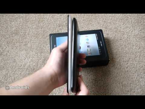 Verizon Galaxy Tab 2 7 with 4G LTE unboxing