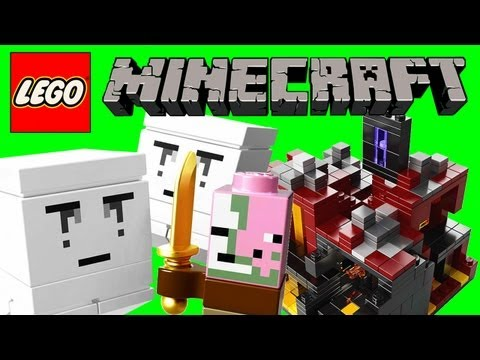 LEGO Minecraft The Nether Micro World 21106 Review